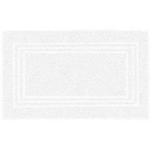 Kleine Wolke Frottier-Badvorleger Lodge Schneeweiss 50 x 80 cm