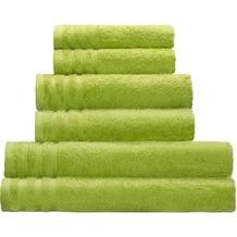 Kleine Wolke Handtuch Royal, Grün 50 x 100 cm