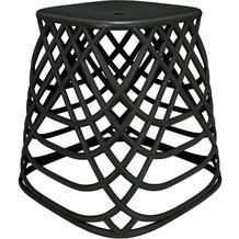 Kleine Wolke Hocker Scandic Chair Schwarz 43,5x43x43,5
