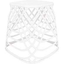Kleine Wolke Hocker Scandic Chair Weiß 43,5x43x43,5