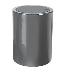 Kleine Wolke Kosmetikeimer Clap Mini, Platin 11x15x11/1,5 Liter