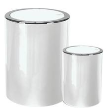 Kleine Wolke Kosmetikeimer Clap Set 2-teilig Schneeweiss 5 & 1,5 Liter