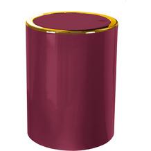 Kleine Wolke Kosmetikeimer Golden Clap Burgund 5 Liter 5 Liter