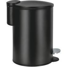 Kleine Wolke Kosmetikeimer Silence, Schwarz 17x23,6x17/3 Liter