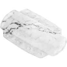 Kleine Wolke Nackenpolster Marble, Anthrazit 32 x 22 cm Nackenpolster