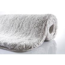 Kleine Wolke Badteppich Relax Grau 47 cm x 50 cm Deckelbezug