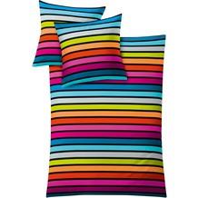 Kleine Wolke Bettwäsche Rimini multicolor 135x200 cm Deckenbezug, 80x80 cm Kissenbezug