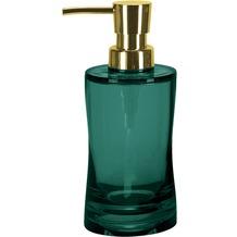 Kleine Wolke Seifenspender Golden Fortune, Smaragd 6,5x18,5x6,5cm/250ml