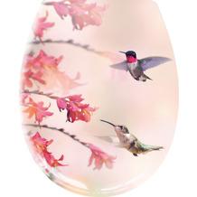 Kleine Wolke WC-Sitz Kolibri Multicolor 37x 45 cm 37x 45 cm