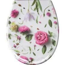 Kleine Wolke WC-Sitz Rosalie, Multicolor 37x 45 cm