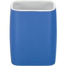 Kleine Wolke Zahnputzbecher Cubic, Königsblau 9,1 x 7,4