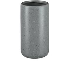 Kleine Wolke Zahnputzbecher Dusty, Platin 6,5x12x6,5/250ml