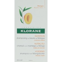 Klorane Nourishing Shampoo With Mango Butter  200 ml