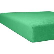 "Kneer Spannbettlaken Flausch-Frottee ""Qualität 10"" Farbe 58 tundra Bettlaken 150 x 250 cm"