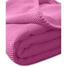 """Kneer Pique-Decke La Diva Maison """"Qualität 91"""" Farbe 20 pink Pique-Decke 150/210 cm"""