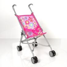 Knorrtoys Puppen-Minibuggy Sim Blumen, pink