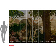 Komar Adventure Anchieratops Jungle 400 x 280 cm