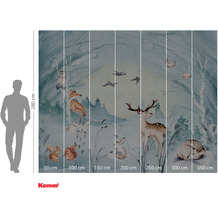 Komar Adventure Animal Sleepover 350 x 280 cm