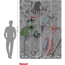 Komar Adventure Avengers Attack 200 x 280 cm