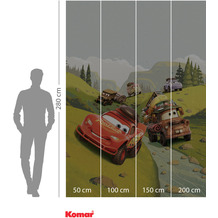 Komar Adventure Cars Camping 200 x 280 cm