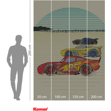 Komar Adventure Cars Stream Lines 200 x 280 cm