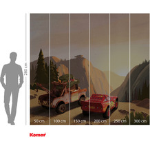 Komar Adventure Cars Sundown 300 x 280 cm