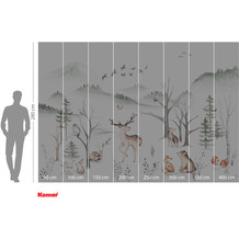 Komar Adventure Cozy Woods 400 x 280 cm