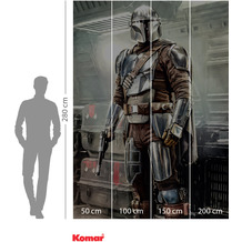 Komar Adventure Mandalorian Fight Posture 200 x 280 cm