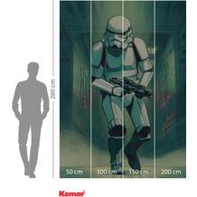 Komar Adventure Mandalorian Stormtrooper Print 200 x 280 cm