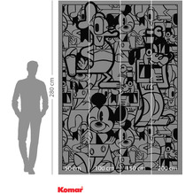 Komar Adventure Mickey Constructive 200 x 280 cm