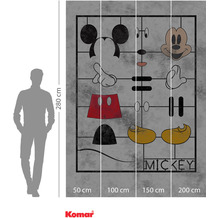 Komar Adventure Mickey Kit 200 x 280 cm