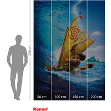 Komar Adventure Moana Ride the Wave 200 x 280 cm