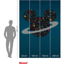 Komar Adventure Planet Mickey 200 x 280 cm