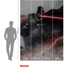 Komar Adventure Star Wars Vader Dark Forces 200 x 280 cm