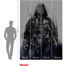 Komar Adventure Star Wars Watercolor Vader 200 x 280 cm