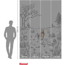 Komar Adventure Winnie Pooh Walk 200 x 280 cm
