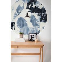 Komar Arty Blue 125 x 125 cm Fototapete Dots