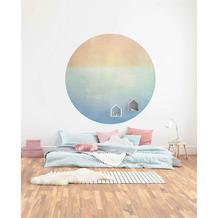 Komar Balance 125 x 125 cm Fototapete Dots