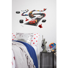"Komar Deco-Sticker"" Cars Track"" 50 x 70 cm"