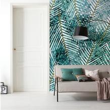 "Komar Digitaldruck Fototapete auf Vlies ""Palm Canopy"" 200 x 250 cm"
