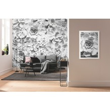 "Komar Digitaldruck Fototapete auf Vlies ""Shades Black and White"" 400 x 250 cm"