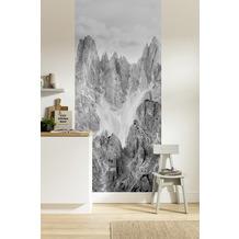 "Komar Digitaldruck Fototapete auf Vlies""Peaks Panel"" 100 x 250 cm"