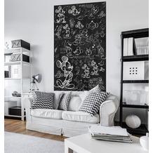 "Komar Digitaldruck Vlies Panel ""Mickey - Chalkboard"" 120 x 200 cm"