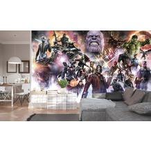"""Komar Digitaldruck Vliestapete """"Avengers Infinity War - Final Round"""" 400 x 250 cm"""