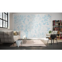 "Komar Digitaldruck Vliestapete ""Mickey Sketches"" 400 x 250 cm"