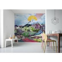 "Komar Digitaldruck Vliestapete ""Mountain Top"" 300 x 250 cm"