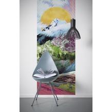 "Komar Digitaldruck Vliestapete ""Mountain Top Panel"" 100 x 250 cm"