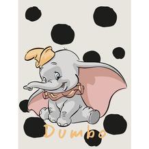 Komar Disney Wandbild Dumbo Dots 30 x 40 cm