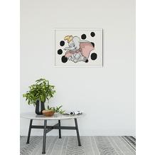 Komar Disney Wandbild Dumbo Dots Landscape 40 x 30 cm