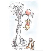 Komar Disney Wandbild Winnie Pooh Hang on 30 x 40 cm